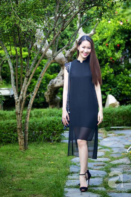 """""""Ban sao"""" Tang Thanh Ha khoe nu cuoi sang bung, hut mat nhin - Anh 8"""