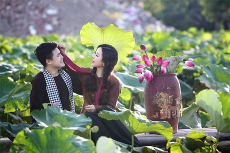 Hoa khoi Thu Ha goi cam tung cm khi lam co dau - Anh 16