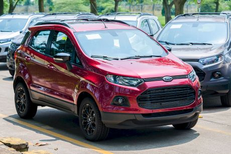 Ford EcoSport Black Edition moi ve Viet Nam co gi dac biet? - Anh 2