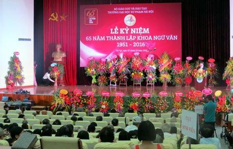 Ky niem 65 nam khoa Ngu van – Truong Dai hoc Su pham Ha Noi - Anh 1