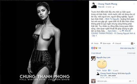 """Chung Thanh Phong bat ngo viet tam thu cho """"ban sao"""" Angelina Jolie - Anh 1"""