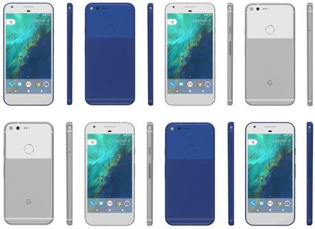 Google Pixel va Pixel XL co gia khoang 600$, co mau xanh - Anh 1