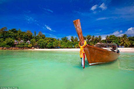 Dao 'Maldives cua Thai Lan' ngap rac, khac han anh quang cao - Anh 1