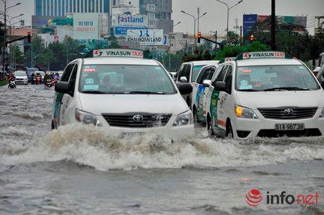 'Ron ngap' Nguyen Huu Canh lai chim sau trong bien nuoc - Anh 4