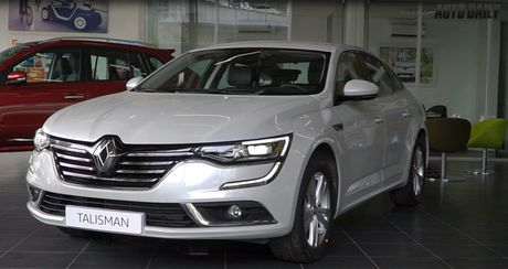 Trai nghiem nhanh Renault Talisman: Doi trong moi cua Toyota Camry - Anh 1