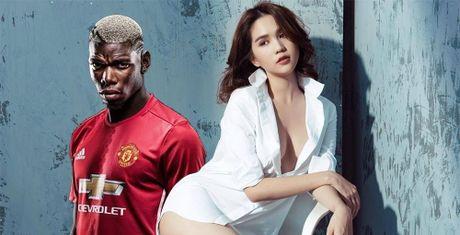 Khong phai Ronaldo hay Suarez, voi Ngoc Trinh phai la Paul Pogba - Anh 1
