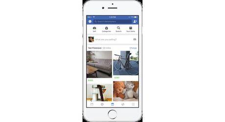 Facebook trinh lang Marketplace, dau cham het cho cac group buon ban? - Anh 1