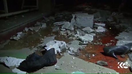 Syria: Kinh hoang dam cuoi bi trung bom, it nhat 22 nguoi chet - Anh 1