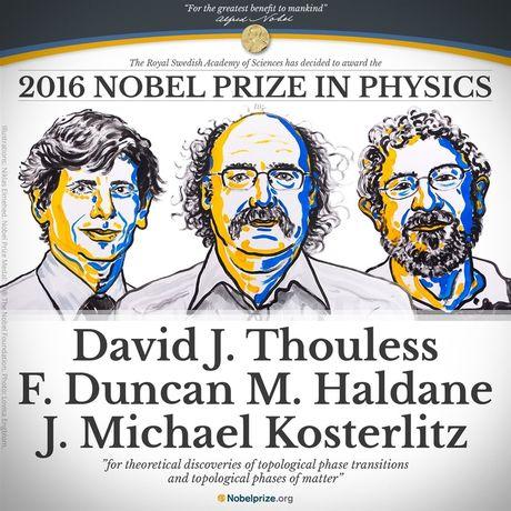 Giai Nobel Vat ly 2016 vinh danh David Thouless, Duncan Haldane va Michael Kosterlitz - Anh 1