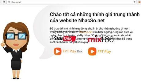 Dich vu NhacSO.net dong cua - Anh 1