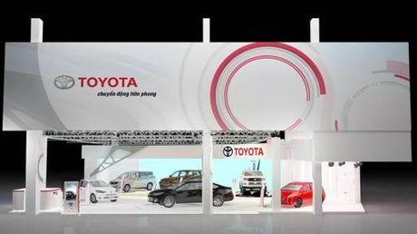 Toyota se mang 6 mau xe toi Vietnam Motor Show 2016 - Anh 1