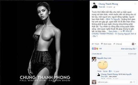 Minh Tu khoe ve sexy day nong bong trong show dien moi cua Chung Thanh Phong - Anh 1