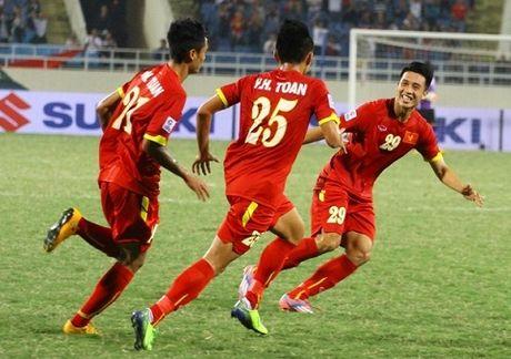 """DT Viet Nam: Hay trao """"an kiem"""" cho Huy Toan va Minh Tuan - Anh 2"""