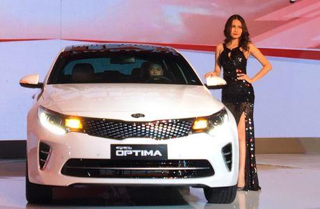 Thaco ra mat dong xe sedan cao cap Kia Optima - Anh 1