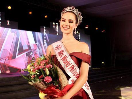 Nguoi dep 22 tuoi dang quang Hoa hau the gioi Philippines - Anh 1