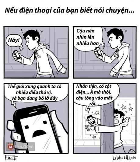 Loat tranh ve chung minh smartphone da anh huong den cuoc song chung ta the nao - Anh 12