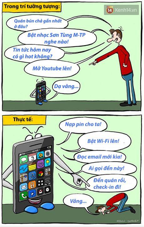 Loat tranh ve chung minh smartphone da anh huong den cuoc song chung ta the nao - Anh 3