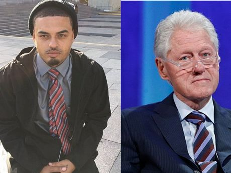 Ro tin don Bill Clinton co con roi voi ... gai ban hoa - Anh 1
