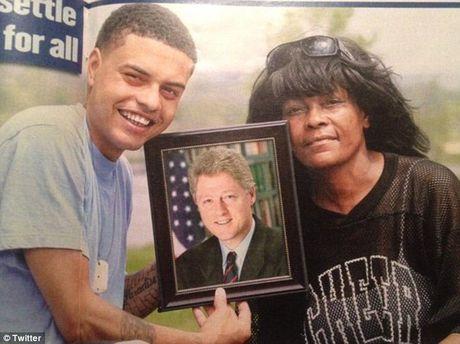 Ro tin don Bill Clinton co con roi voi ... gai ban hoa - Anh 2