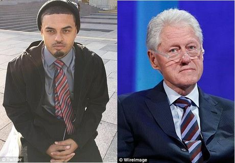 Ro tin don Bill Clinton co con roi voi ... gai ban hoa - Anh 4