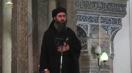Thu linh IS al-Baghdadi bi dau doc - Anh 1