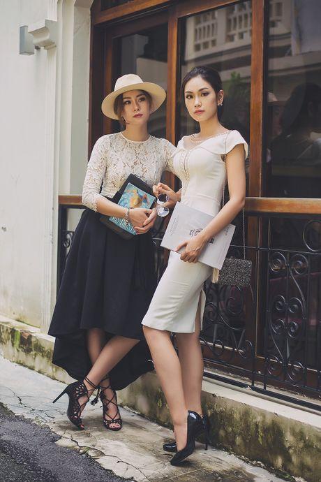 Chi em A khoi Ao dai 2016 dien do doi xuong pho Sai thanh - Anh 9