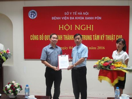 Ha Noi: Trung tam ky thuat cao dau tien dat tieu chuan chau Au sap di vao hoat dong - Anh 1