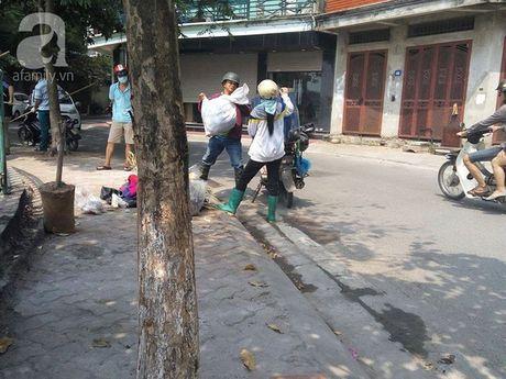 Xuat hien mot so nguoi dan dong thung xop, dung bao tai dung ca chet Ho Tay mang di - Anh 8