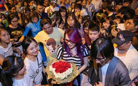 Fan Ho Ngoc Ha da xoay, noi My Tam dung tien 'mua' nguoi ham mo - Anh 1