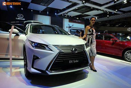 Gian hang 'xe sang' cua Lexus Viet Nam tai VMS 2016 - Anh 2