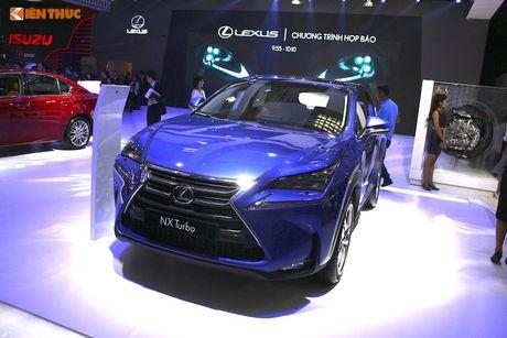 Gian hang 'xe sang' cua Lexus Viet Nam tai VMS 2016 - Anh 7
