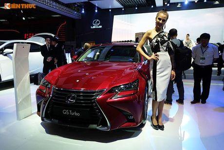 Gian hang 'xe sang' cua Lexus Viet Nam tai VMS 2016 - Anh 9