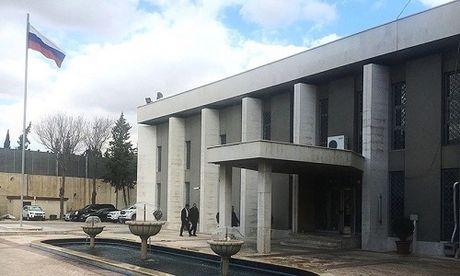 Đại sứ quán Nga tại Syria bị khủng bố nã đạn cối