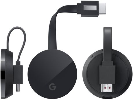 Chromecast Ultra: ho tro 4K, co cong Ethernet tren adapter nguon, gia 69$ - Anh 1