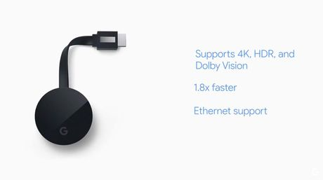 Chromecast Ultra: ho tro 4K, co cong Ethernet tren adapter nguon, gia 69$ - Anh 2