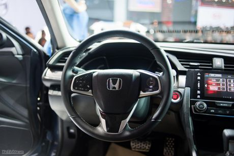Honda Civic moi chinh thuc ra mat thi truong Viet Nam, thang 1/2017 ban, gia chua cong bo - Anh 13