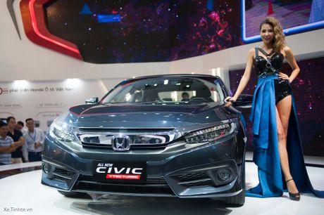 Honda Civic moi chinh thuc ra mat thi truong Viet Nam, thang 1/2017 ban, gia chua cong bo - Anh 2