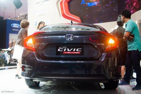 Honda Civic moi chinh thuc ra mat thi truong Viet Nam, thang 1/2017 ban, gia chua cong bo - Anh 6
