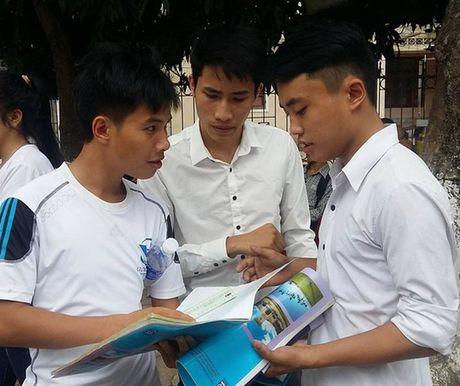 TP.HCM chua thi tot nghiep THPT rieng vao nam 2017 - Anh 1