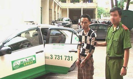 Hang loat tai xe taxi TP HCM dinh bay lua o Vung Tau - Anh 1