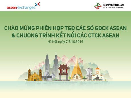Ngay 7/10: 'Dai tiec' cua gioi chung khoan khu vuc Asean tai Ha Noi - Anh 1