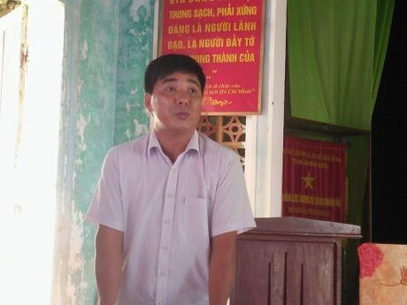 Dan doi di doi co so nau dau thai: Chu tich UBND tron tranh tra loi - Anh 3