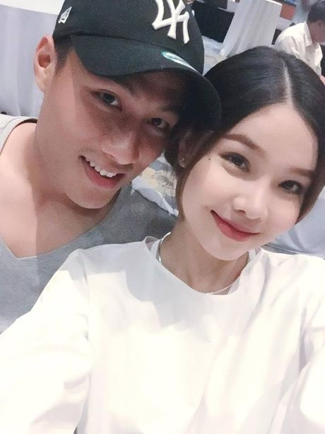 'Cay' co bau, Ky Han bat ngo lam dieu nay de 'hanh' Mac Hong Quan - Anh 1