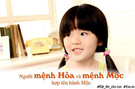 Dat ten cho con gai hop menh theo Ngu hanh - Anh 3