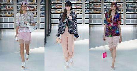 Robot mac vay! Chi co trong Chanel show Xuan 2017 - Anh 11