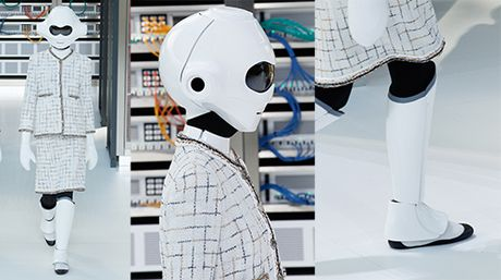 Robot mac vay! Chi co trong Chanel show Xuan 2017 - Anh 7