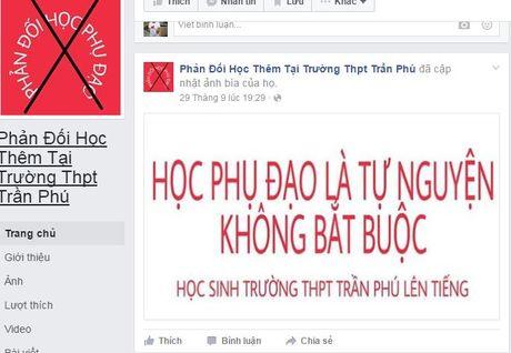 Dak Lak: Hoc sinh lap Facebook phan doi hoc them - Anh 2