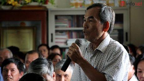 Bi thu Dinh La Thang tra loi cu tri ve vu viec Trinh Xuan Thanh - Anh 2