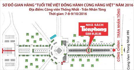 Nha sach Tien Phong tham gia su kien 'Tuoi tre Viet Dong hanh cung hang Viet' - Anh 2