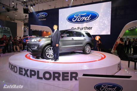 Ford Explorer 2017 ra mat khach hang Viet, gia tu 2,18 ty dong - Anh 3